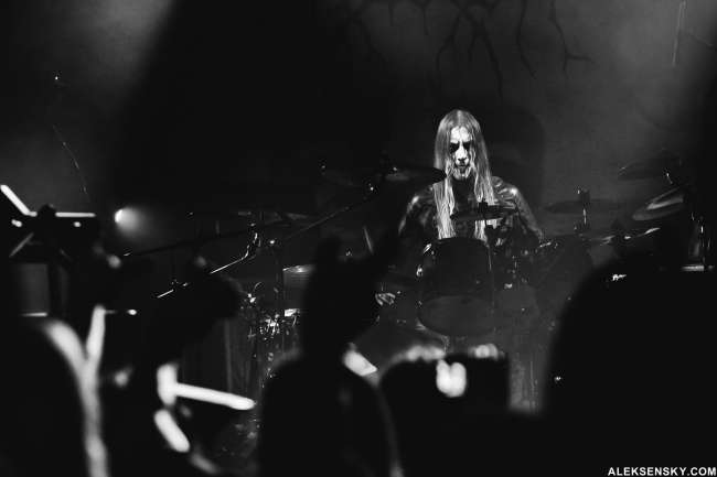 Carach Angren performing at Opera Concert Club, Saint-Petersburg (15.11.2015)