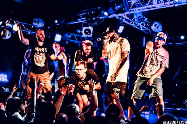 Deez Nuts performing at Зал Ожидания, Saint-Petersburg (9.07.2015)