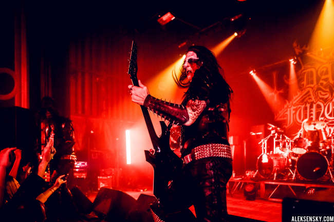 Dark Funeral performing at Opera Concert Club, Saint-Petersburg (13.09.2015)