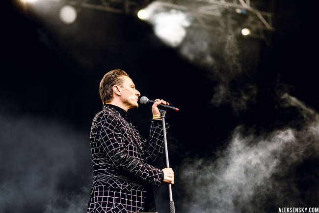 GusGus performing at Greenfest Open Air 2015, СК