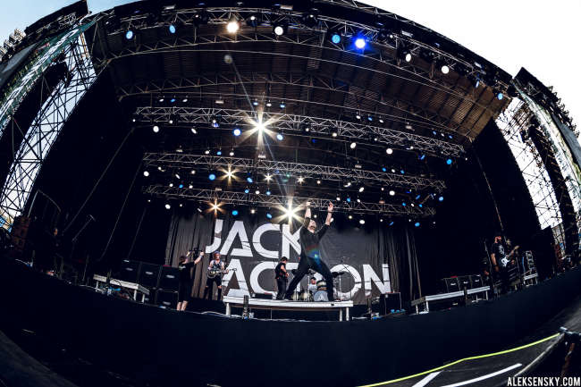 Jack Action performing at Greenfest Open Air 2015, СК