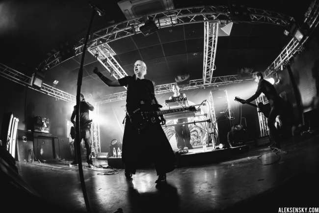 Samael performing at Зал Ожидания, Saint-Petersburg (17.03.2016)