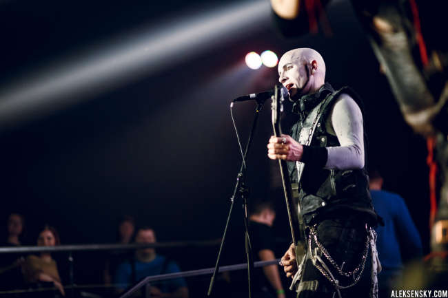 Tanzwut performing at Aurora Concert Hall, Saint-Petersburg (26.03.2016)