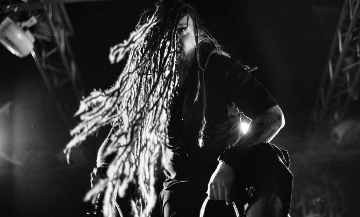 Decapitated performing at Зал Ожидания, Saint-Petersburg (7.05.2016)