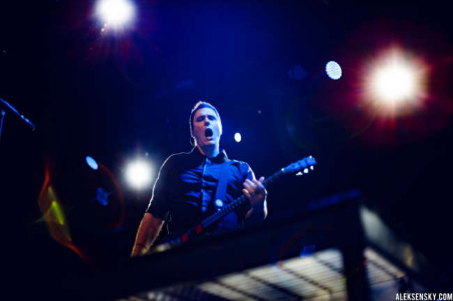Breaking Benjamin performing at A2 Green Concert, first time in Saint-Petersburg (18.06.2016)