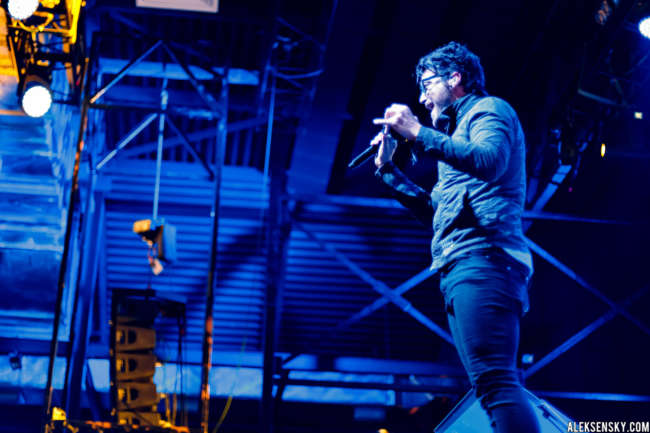Starset performing at A2 Green Concert, Saint-Petersburg (18.06.2016), supporting Breaking Benjamin