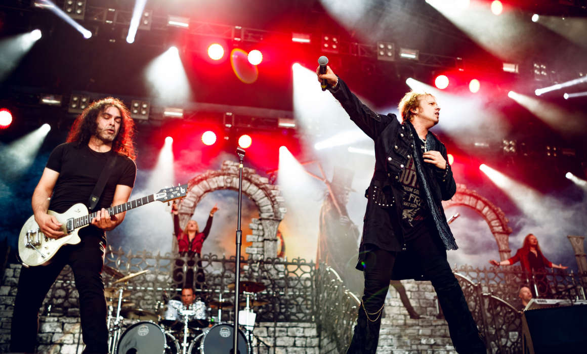 Avantasia performing at Tuska Open Air 2016, Helsinki, Finland (1.07.2016)