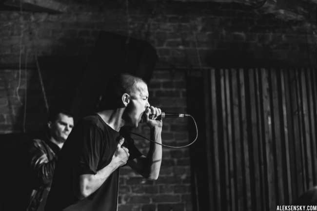 Wolf Down performing at Zoccolo 2.0, Saint-Petersburg (21.09.2016)