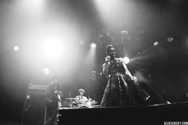 Skye | Ross (from Morcheeba) performing at A2 Green Concert, Saint-Petersburg (03.10.2016)